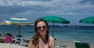 La Marmorata stranden